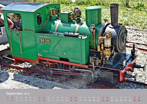 Modell-Lokomotiven beim Dampfmodellbautreffen in Bisingen