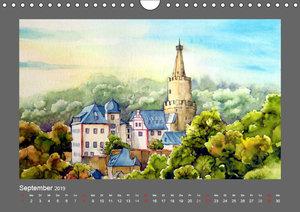 Ansichten aus Mitteldeutschland (Wandkalender 2019 DIN A4 quer)