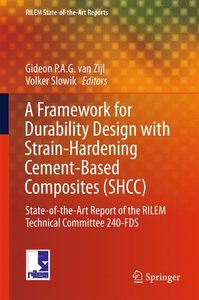 A Framework for Durability Design with Strain-Hardening Cement-B