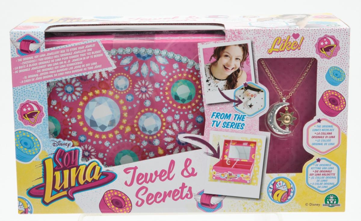 Disney Soy Luna Schmuckbox Und Halskette Mit Anhänger 145842462