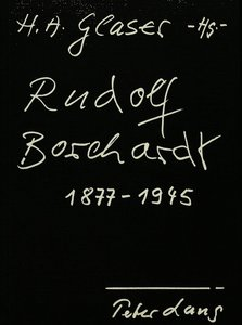 Rudolf Borchardt 1877-1945