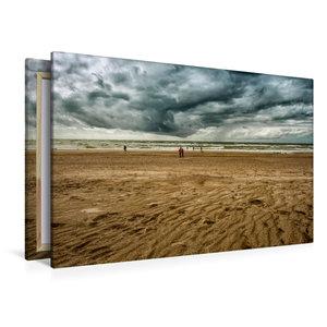 Premium Textil-Leinwand 120 cm x 80 cm quer Impressionen an der