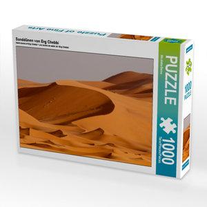 Sanddünen von Erg Chebbi 1000 Teile Puzzle quer