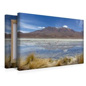 Premium Textil-Leinwand 45 cm x 30 cm quer Bolivien