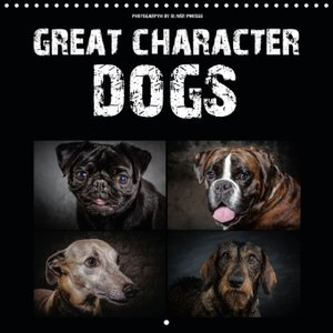 Great character dogs (Wall Calendar 2015 300 × 300 mm Square)
