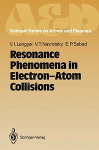 Resonance Phenomena in Electron-Atom Collisions