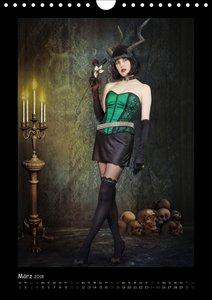 Dunkle Verwandlungen - photography meets dark art (Wandkalender