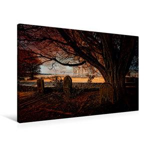 Premium Textil-Leinwand 90 cm x 60 cm quer Gothic Fantasy - Verg