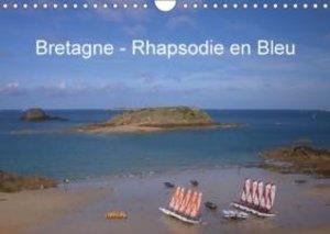 Bretagne - Rhapsodie en Bleu (Calendrier mural 2015 DIN A4 horiz