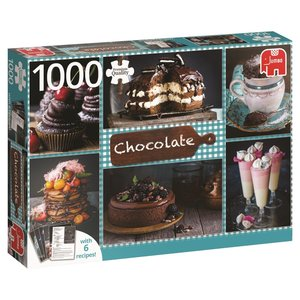 Jumbo 18593 - Schokolade, Puzzle, 1000 Teile