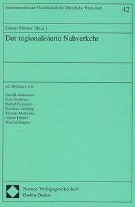Der regionalisierte Nahverkehr