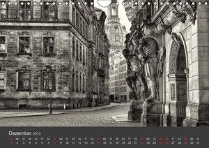 Dresden Schwarz Weiss 2019 (Wandkalender 2019 DIN A4 quer)