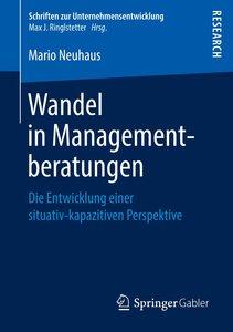 Wandel in Managementberatungen