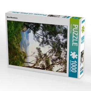 CALVENDO Puzzle Blue Mountains 1000 Teile Lege-Größe 48 x 64 cm