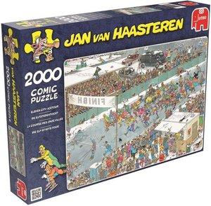 Jan van Haasteren - Die Elf-Städte-Tour - 2000 Teile