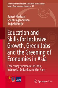 Education and Skills for Inclusive Growth, Green Jobs and the Gr