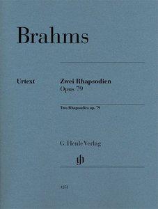 Zwei Rhapsodien op. 79 für Klavier zu zwei Händen