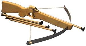 BestSaller 1214 - Armbrust mit großem Stahlbogen, Holz