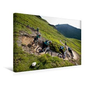 Premium Textil-Leinwand 45 cm x 30 cm quer Hinterglemm/Austria