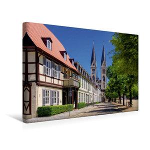Premium Textil-Leinwand 45 cm x 30 cm quer Halberstadt