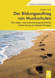 Der Bildungsauftrag von Musikschulen