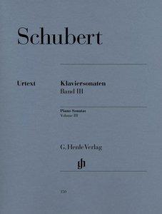 Klaviersonaten Band III (Frühe und unvollendete Sonaten)