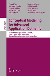 Conceptual Modeling for Advanced Application Domains