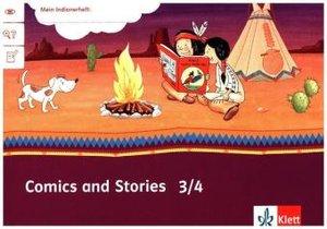 Mein Indianerheft. Comics and Stories. Arbeitsheft Klasse 3/4 (5