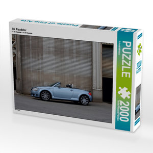 8N Roadster 2000 Teile Puzzle quer
