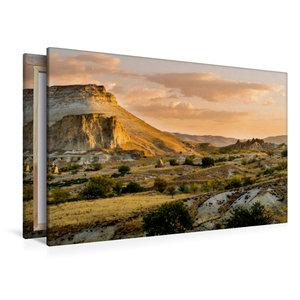 Premium Textil-Leinwand 120 cm x 80 cm quer Goldener Morgen in K