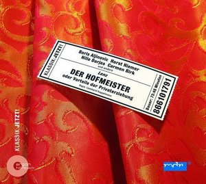 Der Hofmeister. CD
