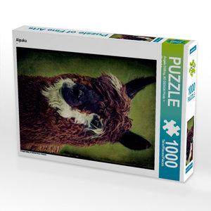 Alpaka 1000 Teile Puzzle hoch