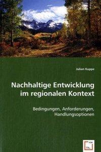 Nachhaltige Entwicklung im regionalen Kontext