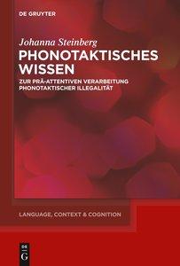 Phonotaktisches Wissen