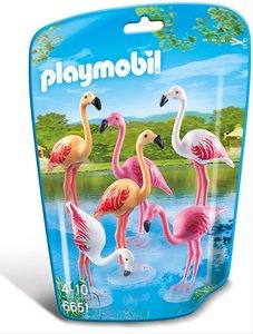 Flamingoschwarm