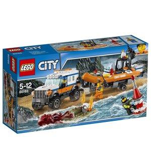 LEGO® City 60165 - Geländewagen mit Rettungsboot, Küstenwache, 3
