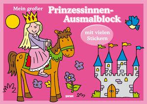 Mein großer Prinzessinnen-Ausmalblock