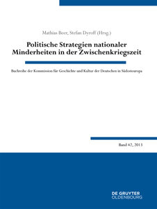 Politische Strategien nationaler Minderheiten in der Zwischenkri