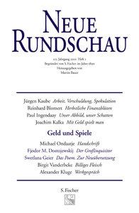 Neue Rundschau 2001/2