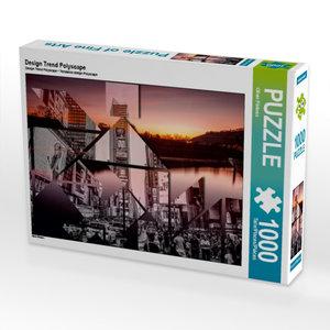 Design Trend Polyscape 1000 Teile Puzzle quer
