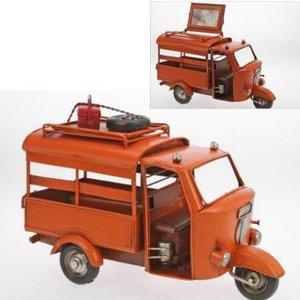 Bilderrahmen Auto Ape orange