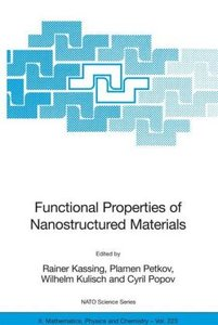 Functional Properties of Nanostructured Materials