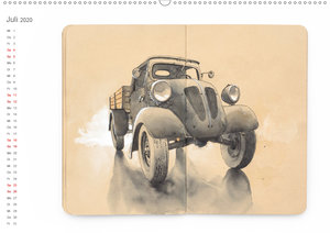 Classic Car Sketchbook