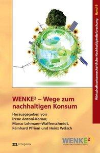 WENKE2 - Wege zum nachhaltigen Konsum