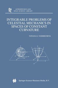 Integrable Problems of Celestial Mechanics in Spaces of Constant
