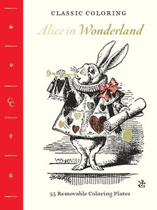 Classic Coloring: Alice in Wonderland (Coloring Book)