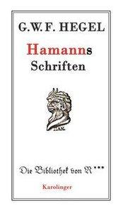 Hamanns Schriften