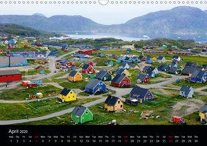A Summer in Greenland (Wall Calendar 2020 DIN A3 Landscape)