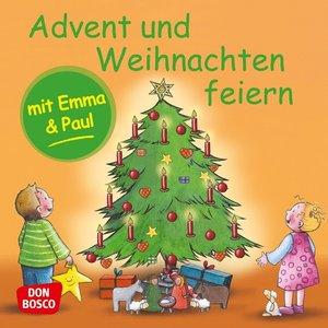 Advent und Weihnachten feiern mit Emma und Paul. Mini-Bilderbuch