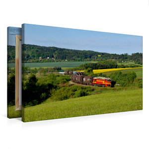Premium Textil-Leinwand 75 cm x 50 cm quer 750 308 und 750 277 m